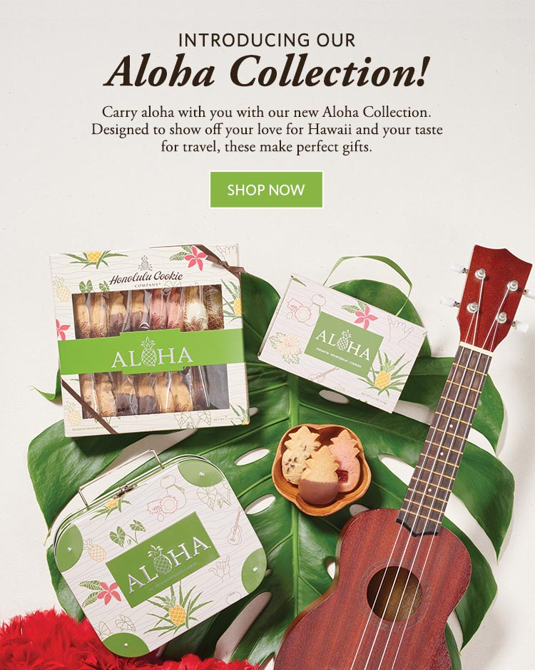 Premium Shortbread Cookie Gifts, Omiyage, Favors from Hawaii