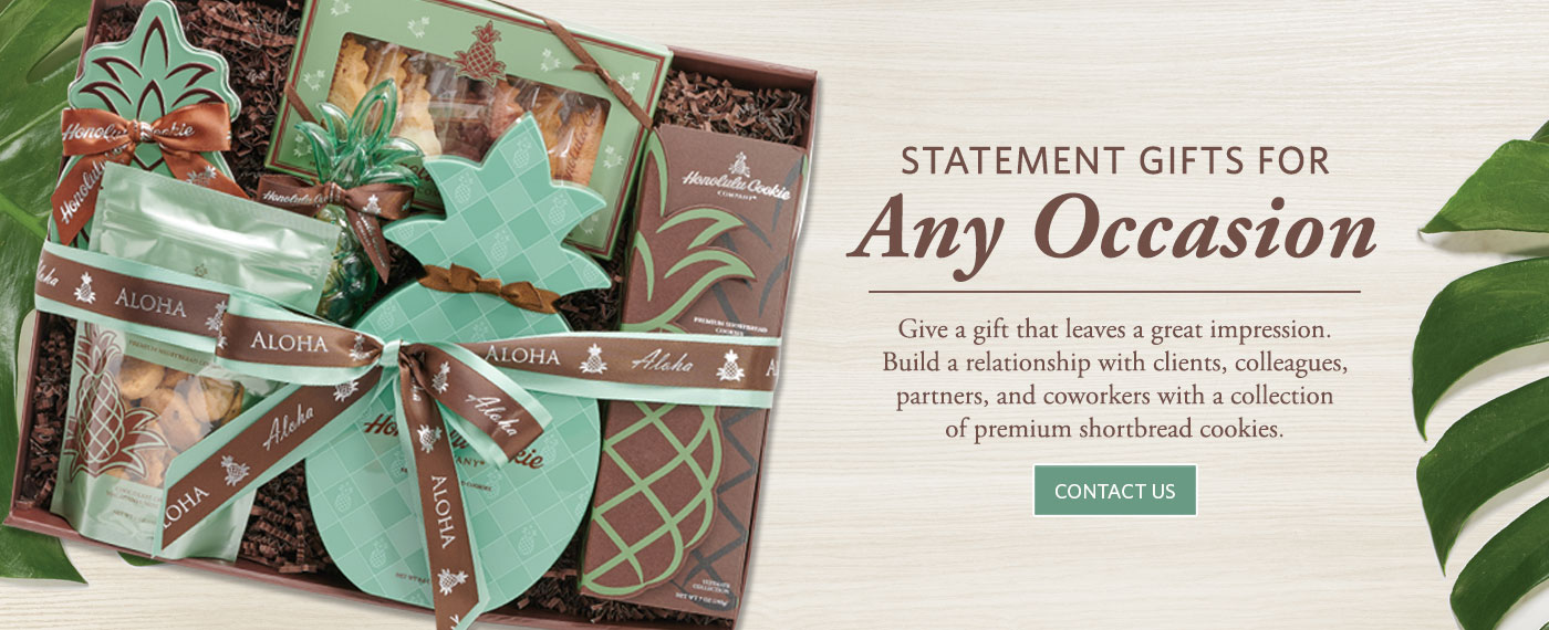 Contact Us for statement gifts that leave a lasting impression on clients, colleagues or partners.