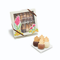 Floral Window Box Chocolate Collection