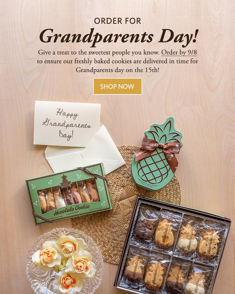 Premium Shortbread Cookie Gifts Omiyage Favors From Hawaii