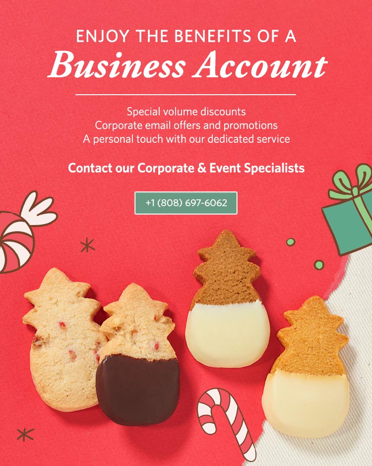 Enjoy the Benefits of a Business Account! Contact Us at 808-697-6062